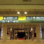 E:都営大江戸線汐留駅から上がってきたところ